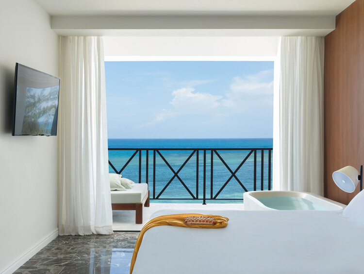 Jamaica Honeymoon Suite with an Ocean View