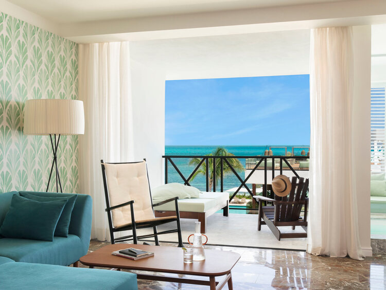 Junior Suite Ocean View at Excellence Oyster Bay
