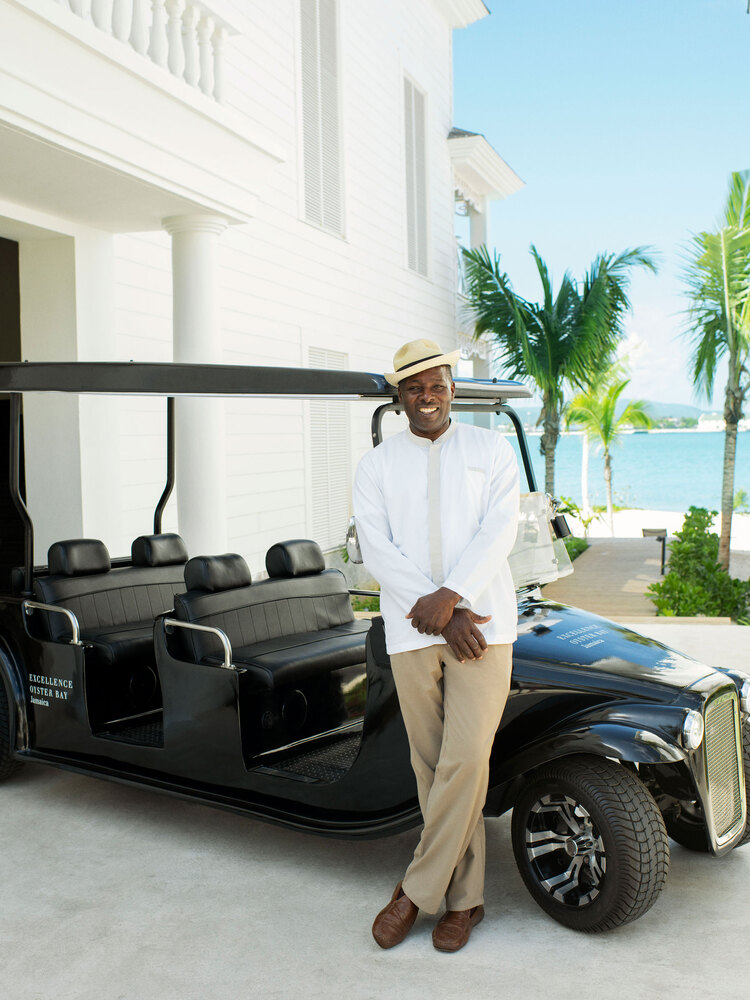 Resort with Golf Cart Transportation