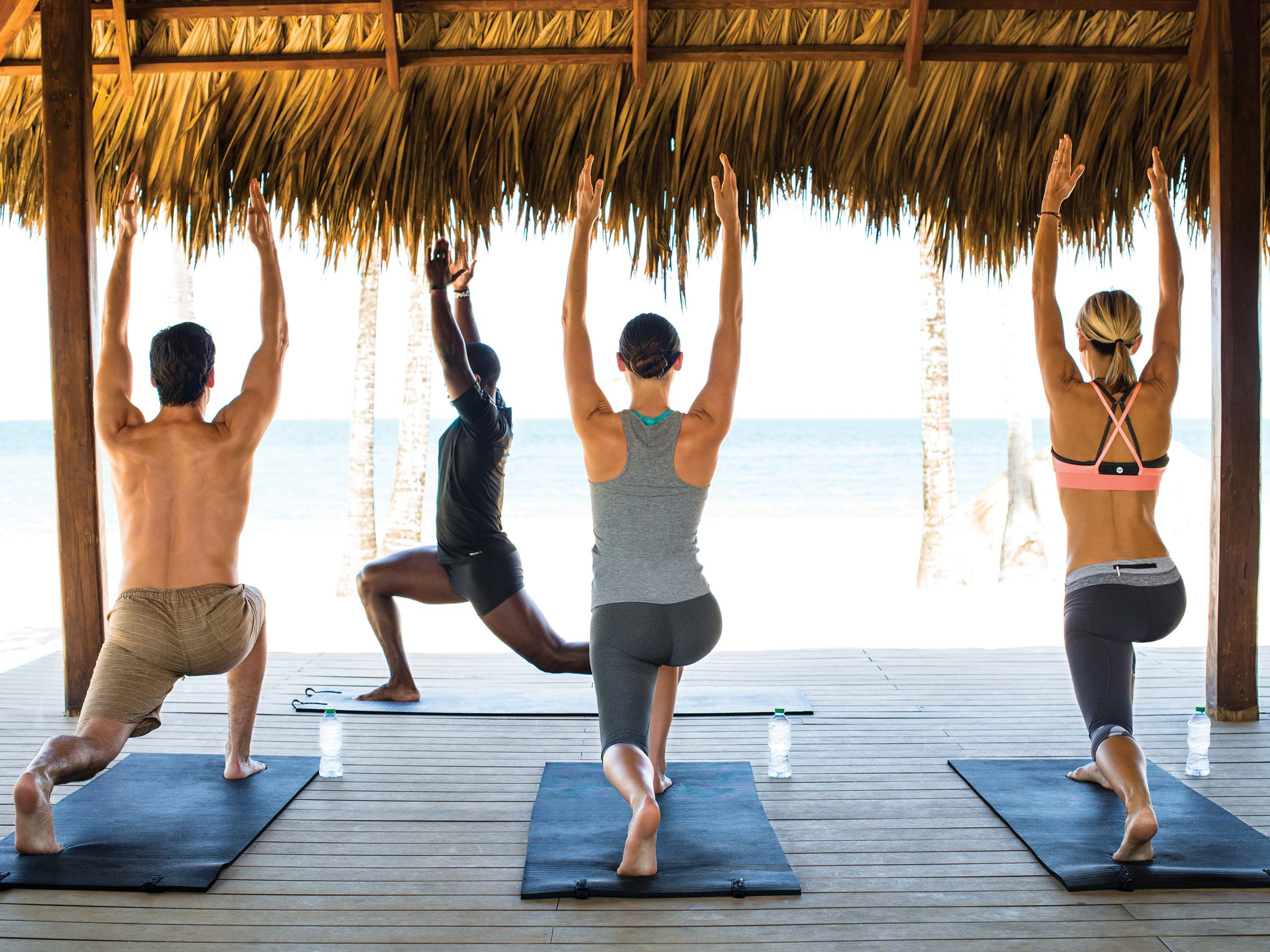 Yoga Class on the Beach in Montego Bay