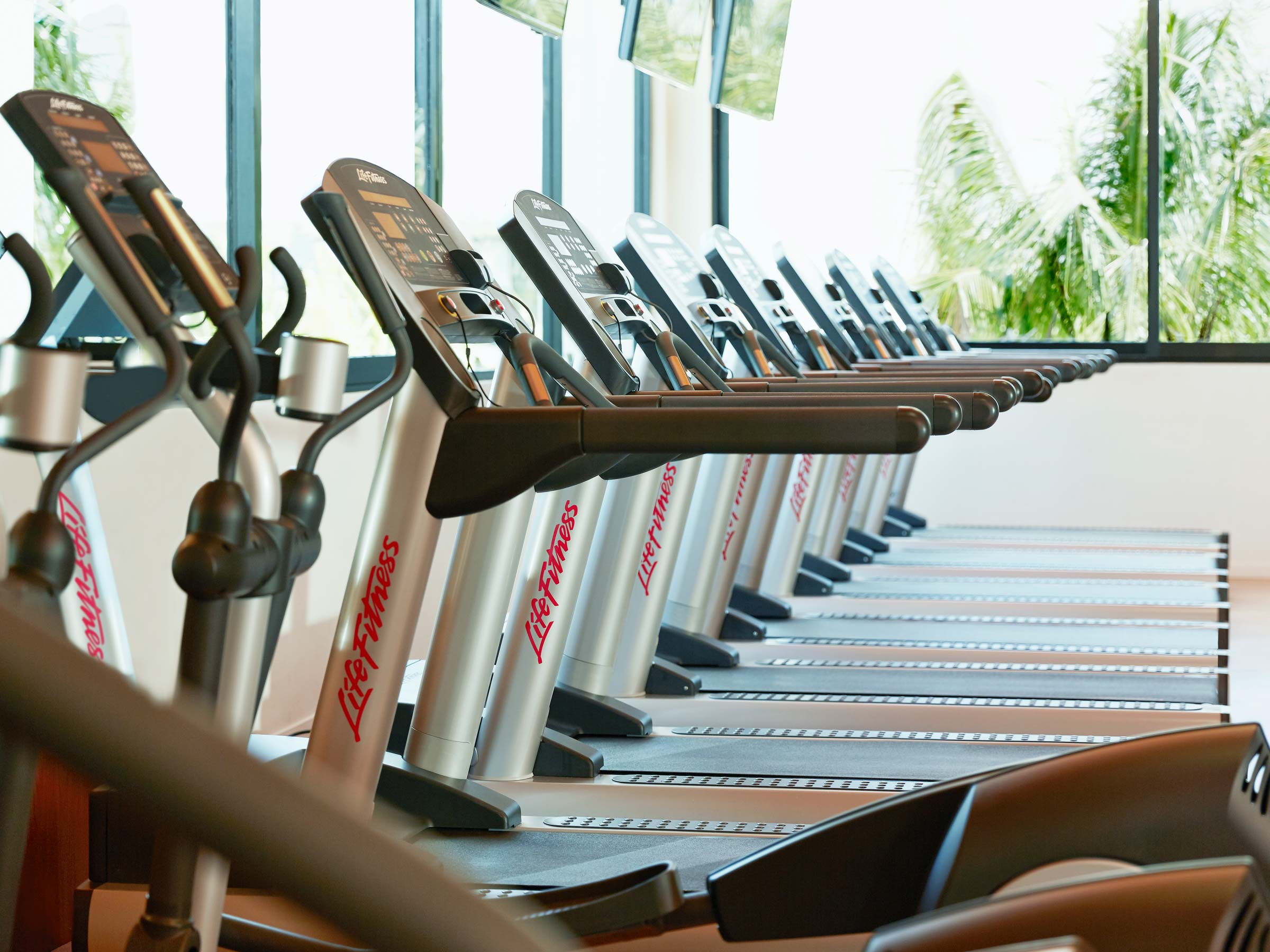 Fully Equipped Gym at Excellence Oyster Bay Resort in Jamaica