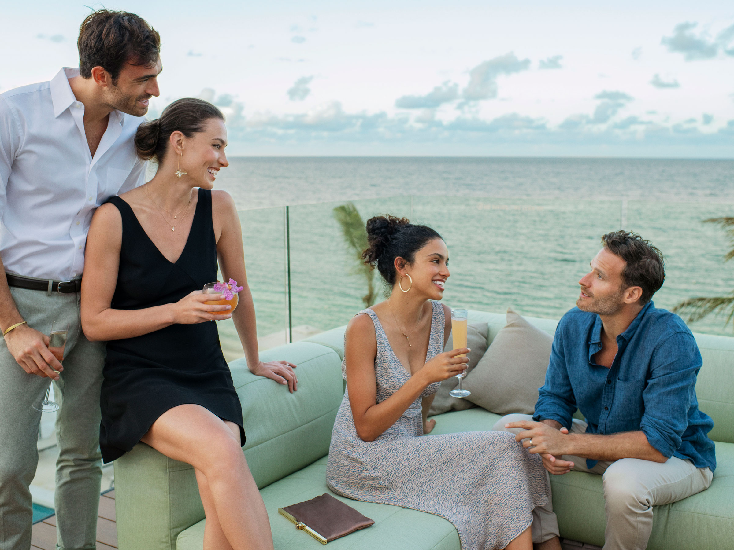 Sunset Cocktails at Rooftop Bars in Jamaica