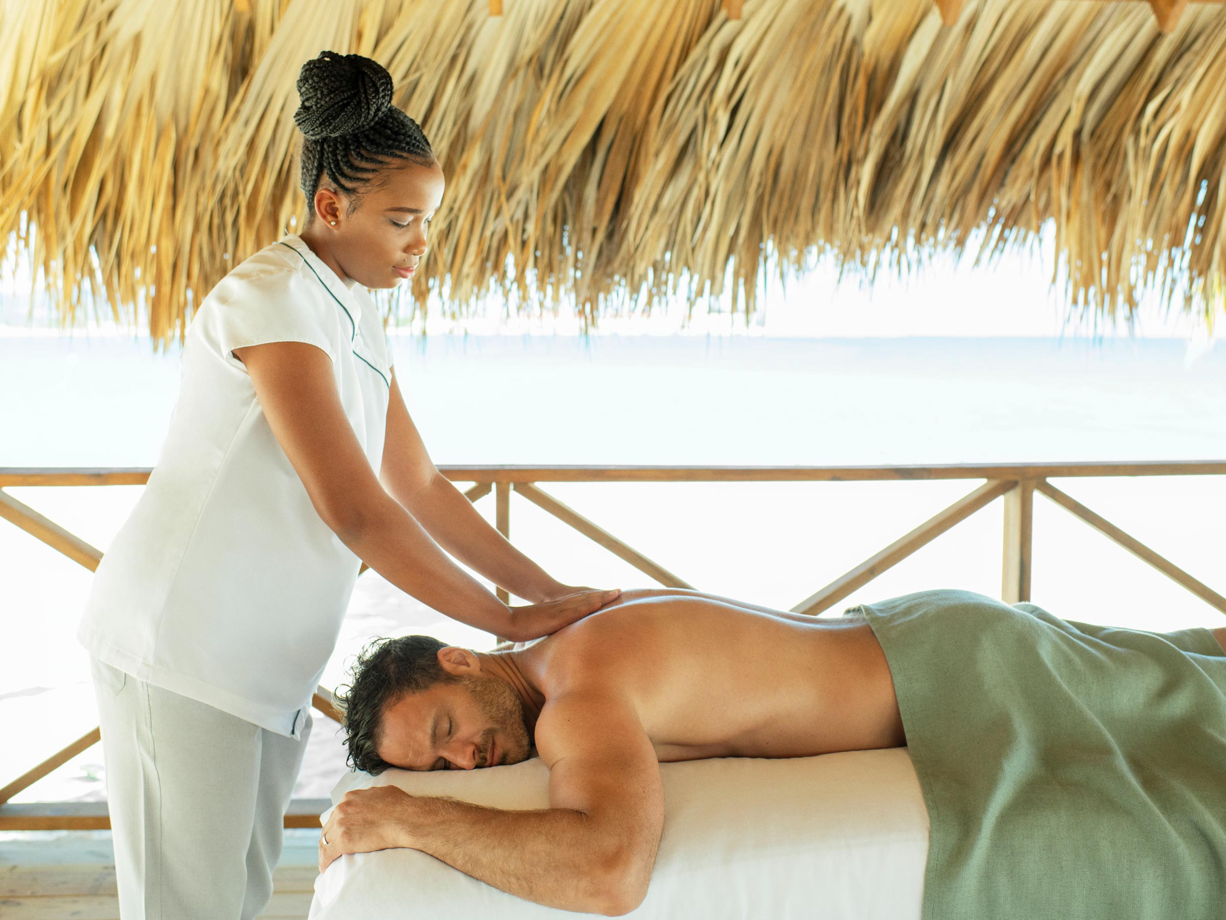 Excellence Oyster Bay Spa Beach Massage